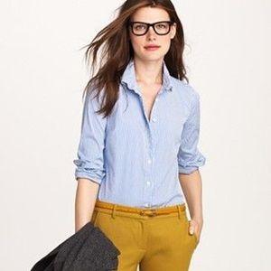 H&M button down long sleeve blouse size 4